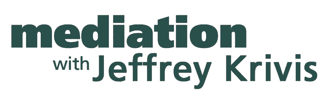 Mediation with Jeffrey Krivis